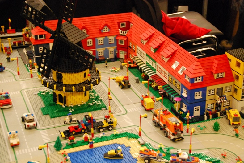 Stad LEGO world