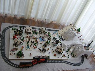 Lego winter city
