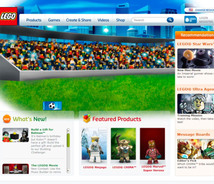 Official LEGO® site