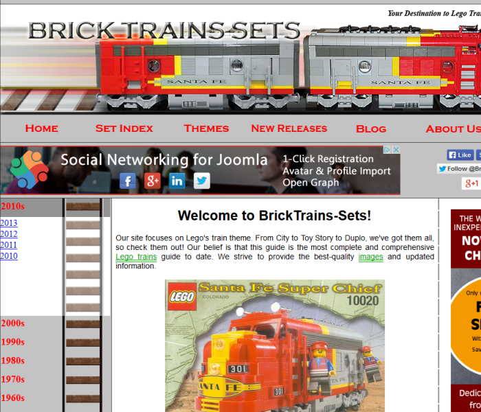 BrickTrains-Sets