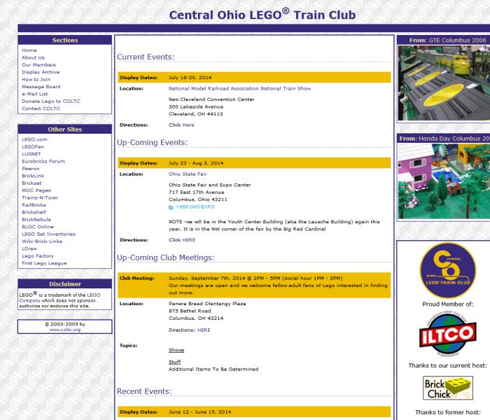 Central Ohio LEGO