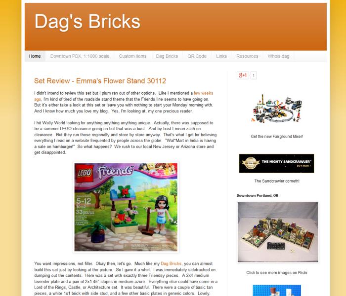 Dag's Bricks