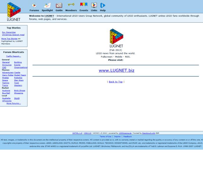 LUGNET Database