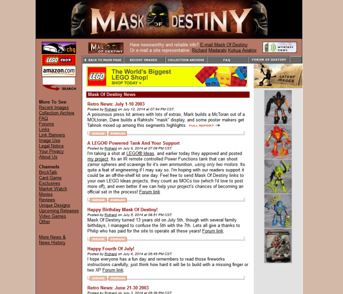 Mask of destiny