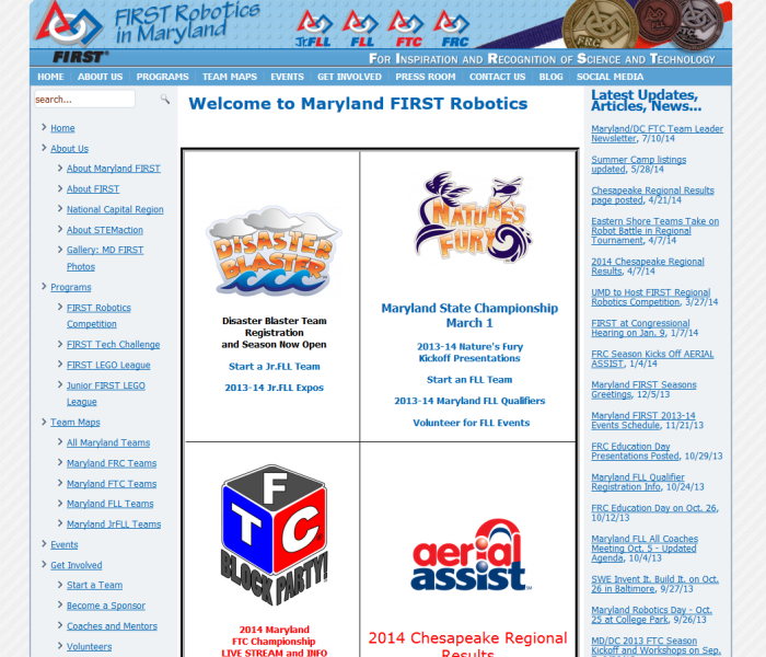 JrFLL of Maryland