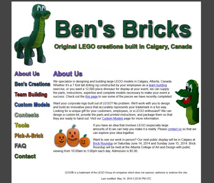 Ben's Bricks
