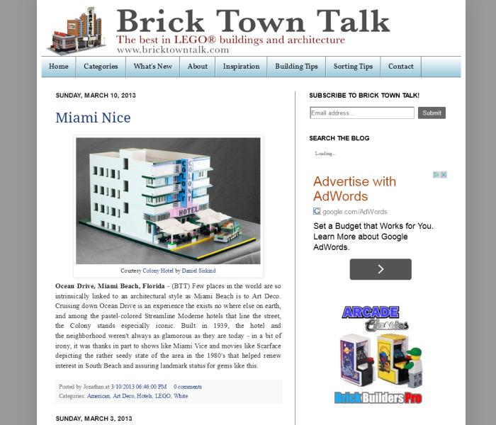 Brick Town Talk