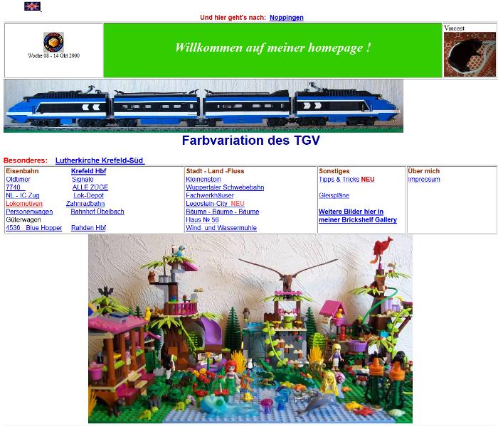 Heiner's 9V LEGO
