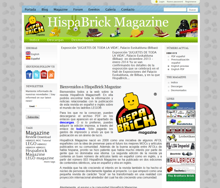 Hispabrick Magazine