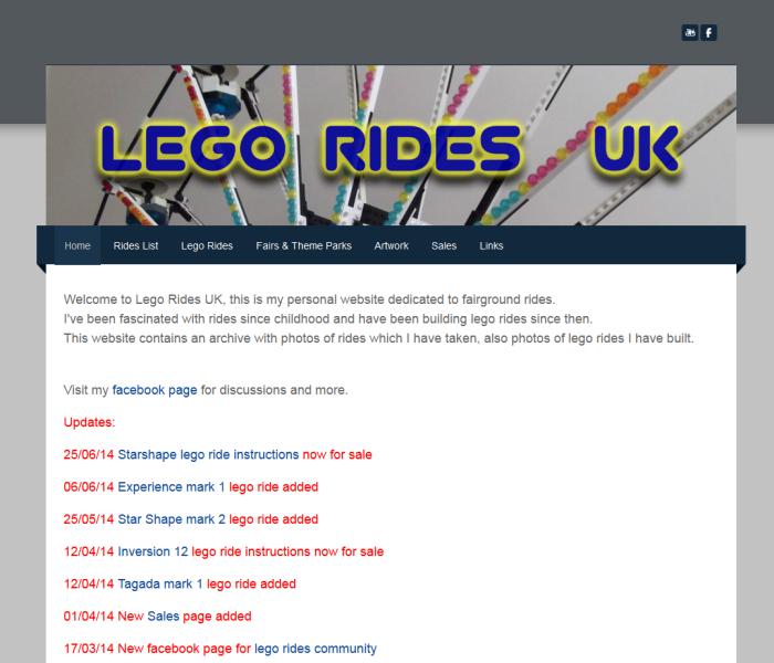 Lego Rides UK
