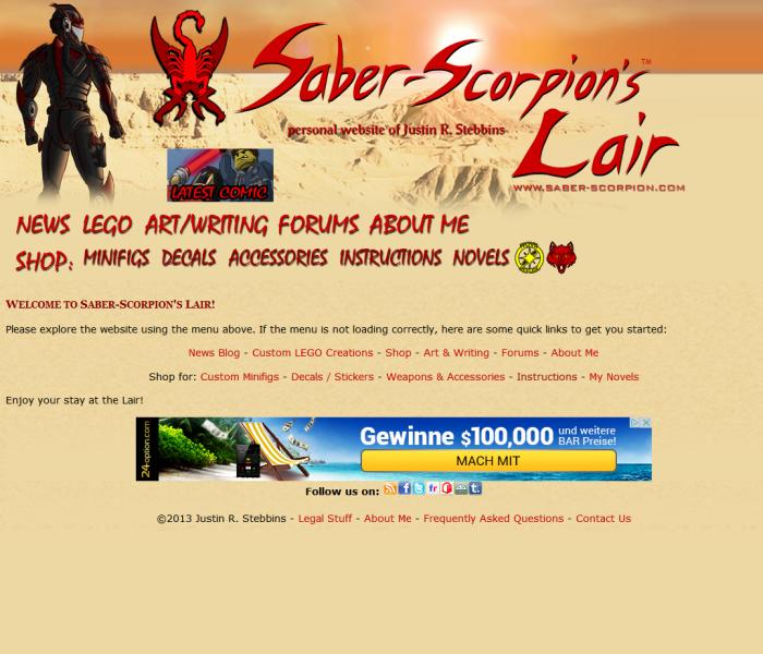 Saber Scorpion's