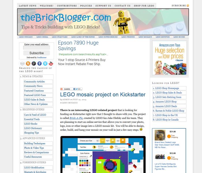 TheBrickBlogger