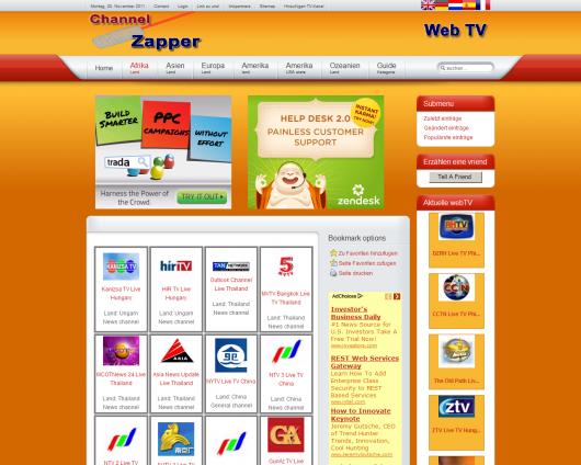 Channelzapper